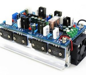 500W+500W high power amplifier board