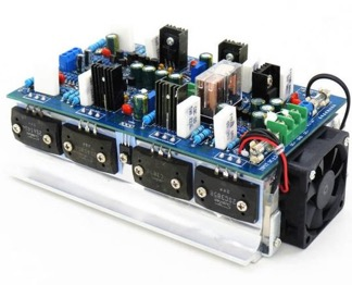 500W+500W high power amplifier board