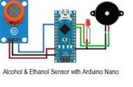 Alcohol & Ethanol Detector with Arduino Nano