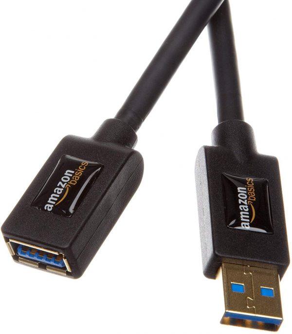 AmazonBasics USB 3 extension cable