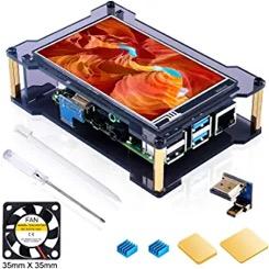 Miuzei Raspberry Pi 4 Touch Screen
