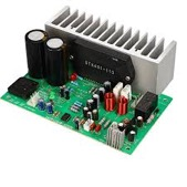 STK401 Audio Amplifier Board Amp 140W*2 HIFI 2.0 Channel High Power Amplifier AC24-28V Home Theater DIY