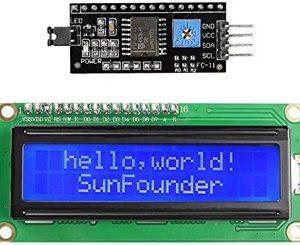 SunFounder IIC:I2C:TWI 1602