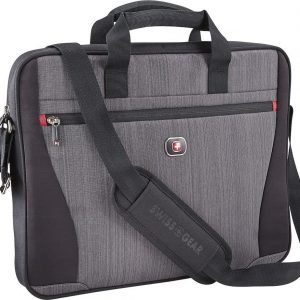 "Wenger Structure 17"" Laptop Case - Grey Heather"