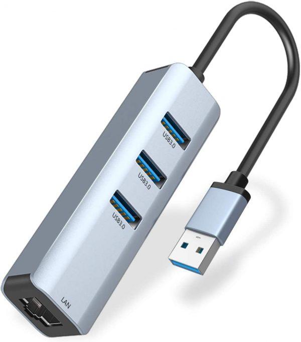 ABLEWE 3-Port USB 3.0 Hub