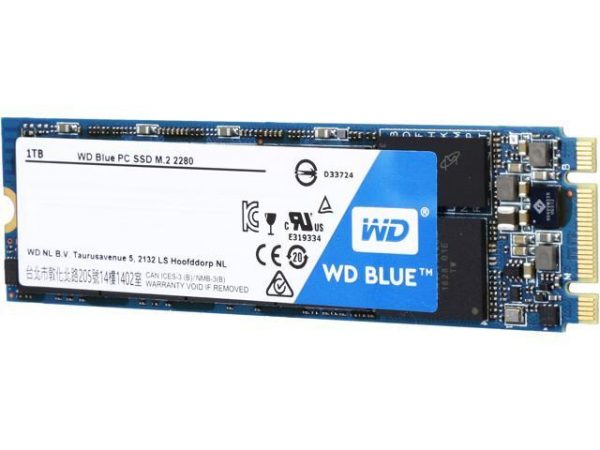 WD BLUE M2 500GB Internal SSD Solid State Drive - SATA 6Gb/s