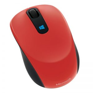 Microsoft Sculpt Mobile Mouse - Flame Red