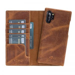 Samsung Galaxy Note 10 Burkley Pieno Full Leather Magnetic Wallet case